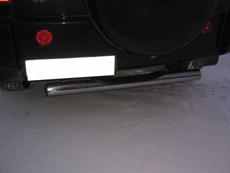 CT010 Защита заднего бампера d76 с проступью